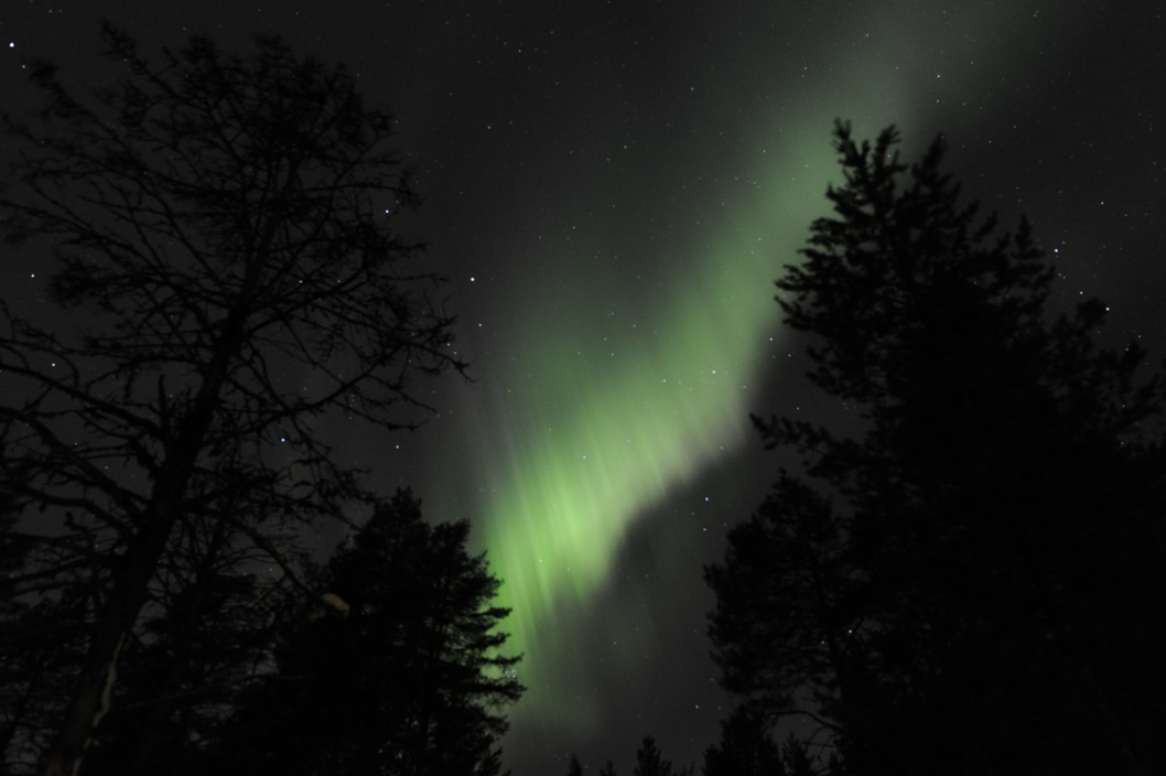 Aurora Borealis - Kuusamo, Finnland 2012