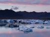 Blaue Stunde - Jökullsarlon, Island