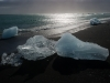 Eis am Strand - Jökullsarlon, Island
