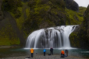 Wasserfallfotografen