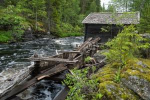 Mühle - Ruhtinansalmi, Finnland