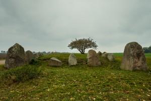 jungsteinzeitliches Grab